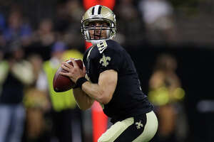 NEW ORLEANS, LA - SEPTEMBER 01:  Drew Brees #9 of the New Orleans Saints throws the ball against the Baltimore Ravens at the Mercedes-Benz Superdome on September 1, 2016 in New Orleans, Louisiana.  (Photo by Chris Graythen/Getty Images)