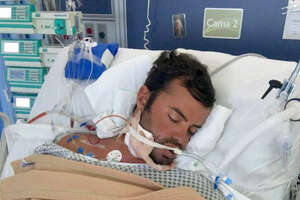 Jonathan Schoeneman, a 34-year-old Houston-area man, was attacked by a fierce and multi-toothed water animal presumed to have been a crocodile while snorkeling and spearfishing near a mangrove. He has been recovering in a Mexican hospital since Sept. 1, 2016.