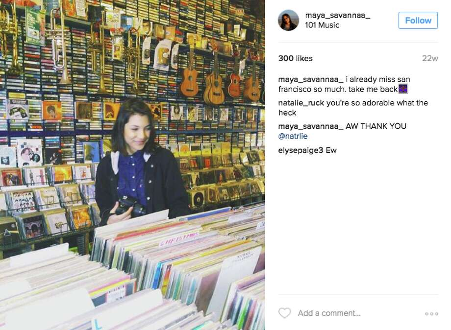 You've dug in the crates for classic vinyl at 101 Music. Photo: Instagram