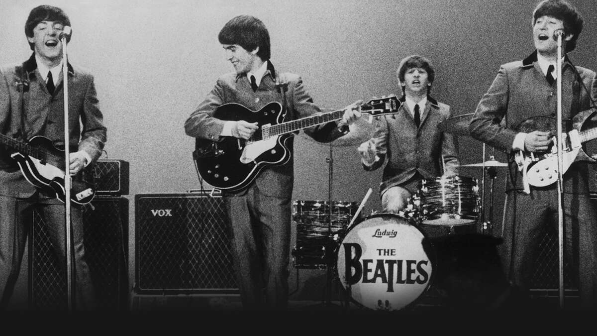 """""""The Beatles"""" documentary from Ron Howard features concert footage,The Beatles at the Washington Coliseum."""