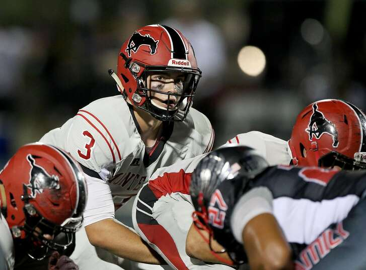 Jake Haener, a commit to Washington, is the quarterback for Monte Vista-Danville, which enters its second game of 2016 as The Chronicle's No. 3 team.