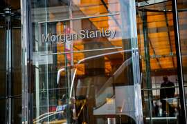 Morgan Stanley signage is displayed on the exterior of the company's headquarters in New York, U.S., on Tuesday, July 12, 2016. Morgan Stanley is scheduled to release earnings figures on July 20. Photographer: Eric Thayer/Bloomberg