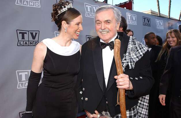 Doohan and wife Wende attend the TV Land Awards 2003 at the Hollywood Palladium. Doohan died in 2005. Photo: Getty Images
