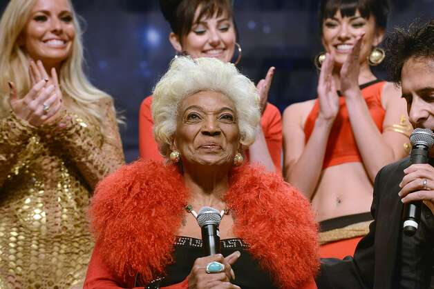 Nichols, 83, attended a Star Trek convention in August. Photo: Getty Images