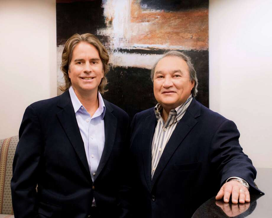Edward C. Snyder III of Castillo Snyder LP, left, and San Antonio lawyer Edward Valdespino in an undated courtesy photo. The lawyers have brought litigation against law firms, auditors and insurance brokers in connection with the massive fraud scheme orchestrated by R. Allen Stanford. Photo: AL RENDON /Courtesy Photo / COURTESY OF THE LAW FIRMS
