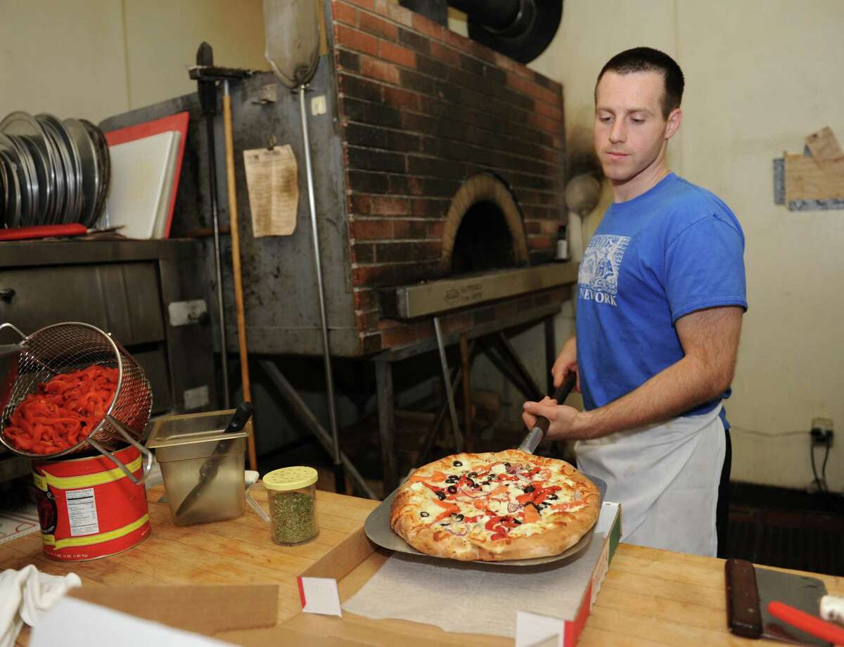 DeFazio's Pizzeria, 266 4th St., Troy. 518-271-1111. defaziospizza.com. 11 a.m. to 10 p.m. Monday to Friday, noon to 10 p.m. Saturday, closed Sunday. $-$$ Not handicapped-accessible.