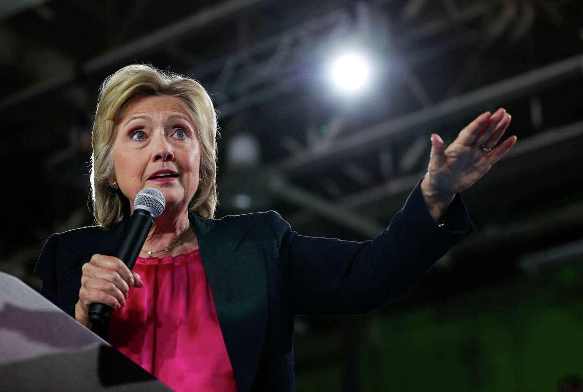 Hillary Clinton Democratic presidential nominee