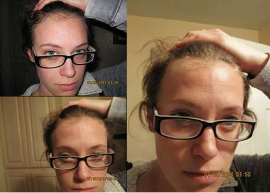 Amy Hargrove reportedly took these photos of herself hours before her death, according to the King County Prosector's Office. Photo: Courtesy King County Prosecutor's Office