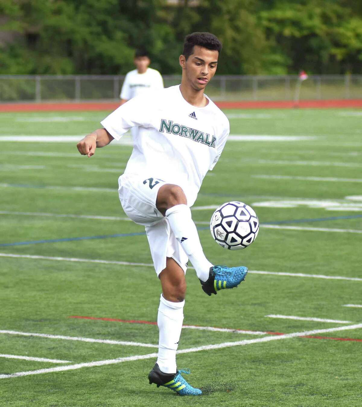 Norwalk senior Anthony Hernandez is one of four returning seniors that will lead a young Bears team into the 2016 season.
