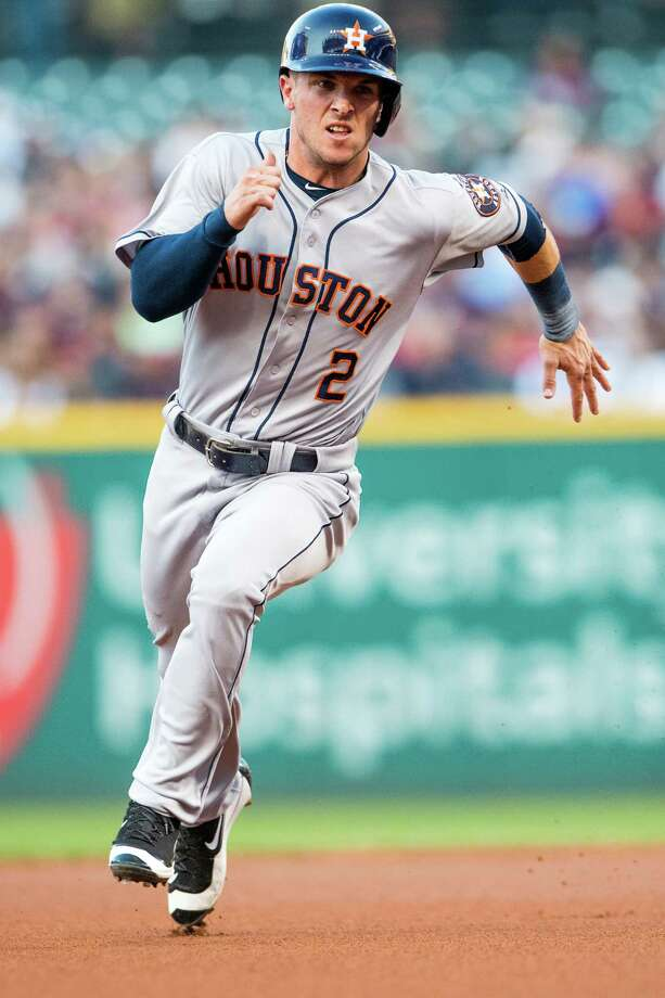 Alex Bregman ran for the first time Thursday since suffering a right hamstring strain that remains likely to cost the touted rookie the remainder of his season. Photo: Jason Miller, Getty Images / 2016 Getty Images