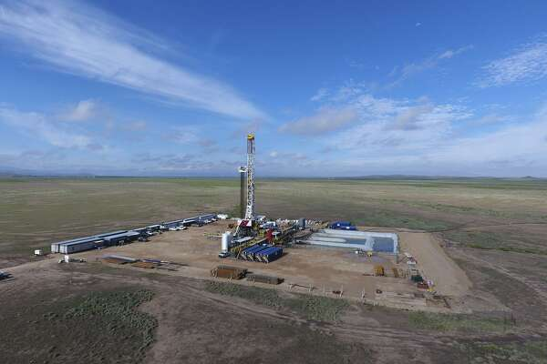 """Shown are Apache operations around the company's Alpine High find in West Texas. The find, announced at the end of 2016, could contain billions of barrels of oil and natural gas and is located on the southeastern edge of West Texas' prolific Permian Basin. A survey by the Federal Reserve Bank of Dallas found that the consensus of oil executives is that the Permian Basin is """"hot."""""""
