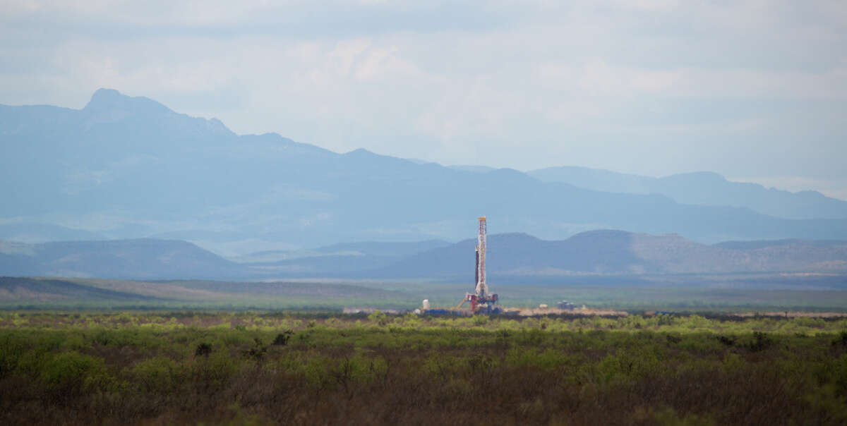 Apache operations in its new field, Alpine High, in West Texas' Permian Basin. The operations are primarily in Reeves County and Apache is dedicating a quarter of its $2 billion in spending this year to the field.