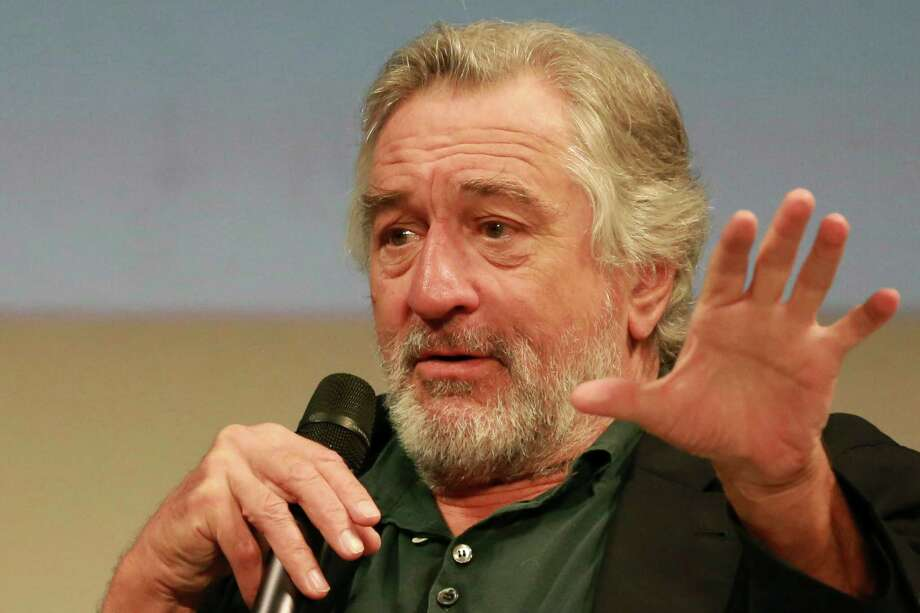 "Actor Robert De Niro addresses journalist in Sarajevo, Bosnia on Saturday, Aug. 13, 2016, during the 22nd Sarajevo Film Festival.  De Niro says U.S. Republican presidential candidate Donald Trump is just like the main character of the legendary 1976 movie ""Taxi Driver"", the mentally disturbed Travis Bickle. (AP Photo) Photo: STR / Copyright 2016 The Associated Press. All rights reserved. This material may not be published, broadcast, rewritten or redistribu"
