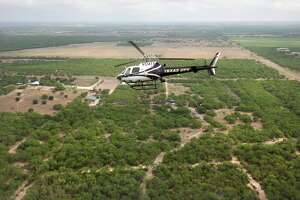 Texas Department of Public Safety state police patrol the Rio Grande River and the surrounding area with high-tech helicopters. (File photo)