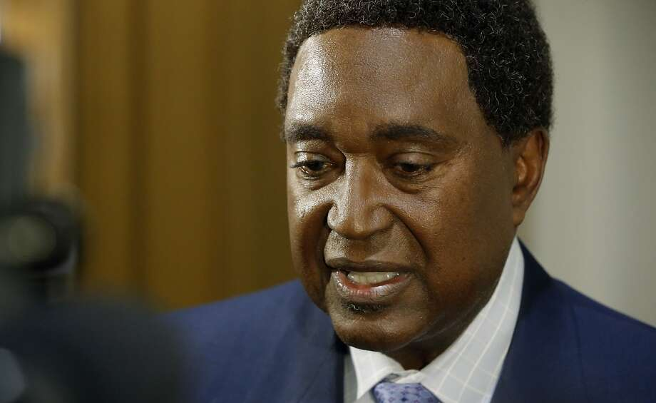 Attorney John Burris, who represents a woman who has filed legal claims against Oakland and Richmond for alleged sexual exploitation by police officers in those cities. Photo: Michael Macor, The Chronicle