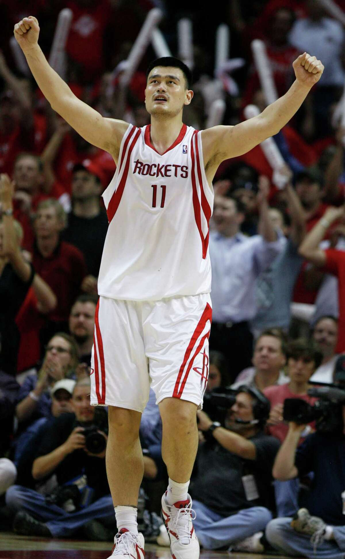Yao Ming's No. 11 will be officially retired on Feb. 3.