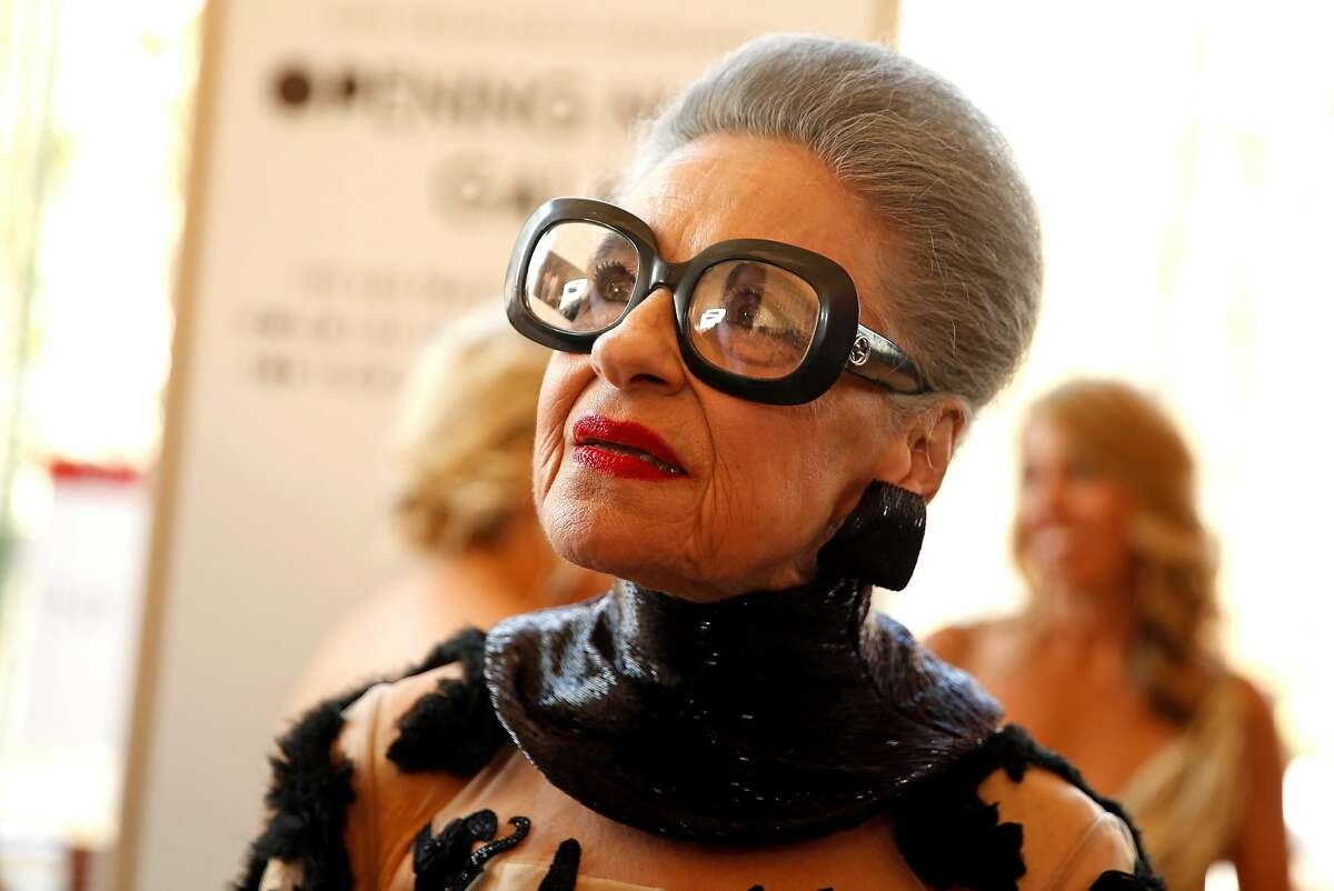 Joy Bianchi before San Francisco Symphony Opening Night Gala in San Francisco, Calif., on Wednesday, September 7, 2016.