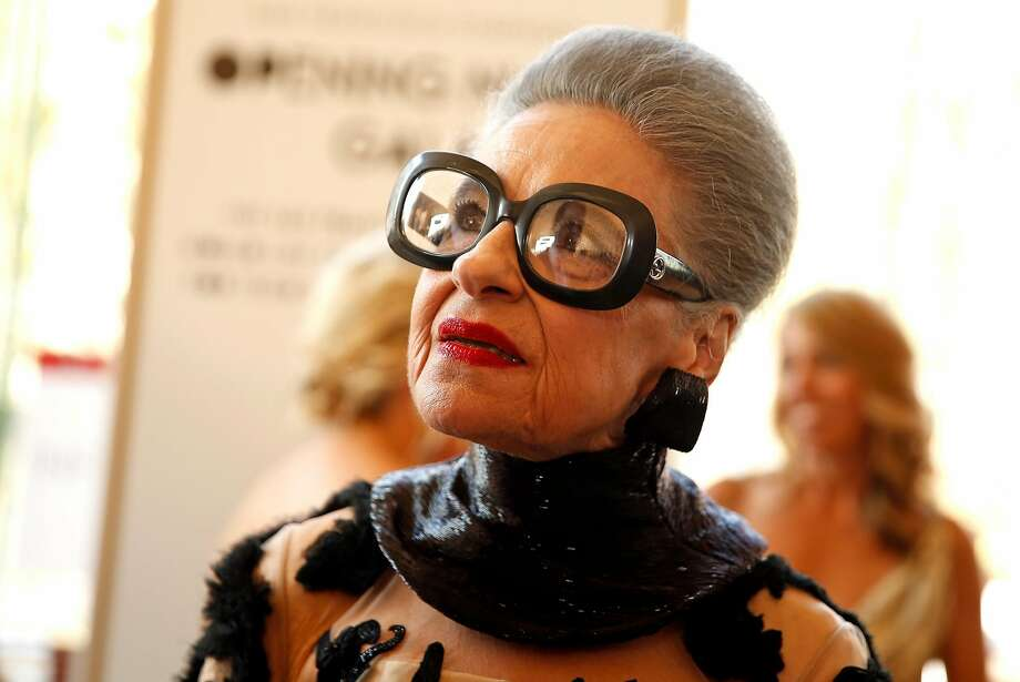 Joy Bianchi before San Francisco Symphony Opening Night Gala in San Francisco, Calif., on Wednesday, September 7, 2016. Photo: Scott Strazzante, The Chronicle