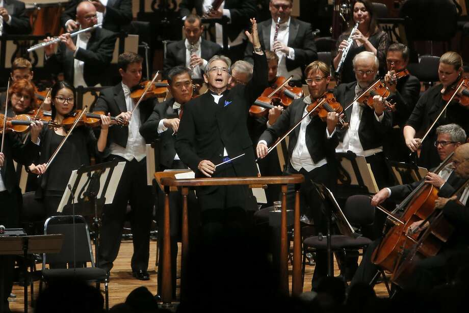 Michael Tilson Thomas found a fertile middle ground between art and entertainment during the opening-night gala. Photo: Scott Strazzante, The Chronicle