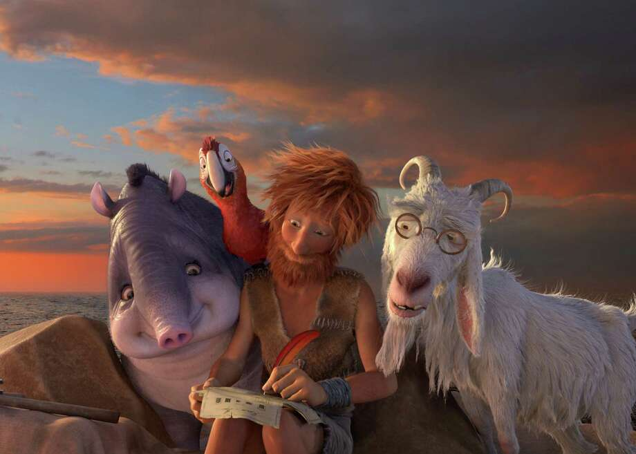 "The mild life ""The Wild Life"" retells ""Robinson Crusoe"" through the eyes of cute animals. The famous castaway finds clothing, shelter, anthropomorphized animal friends - everything he could possibly need but excitement.  Photo: Courtesy of Lionsgate Photo: Courtesy Of Lionsgate / Online_yes"