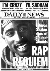Grondahl: When inmate Tupac Shakur caused a stir at