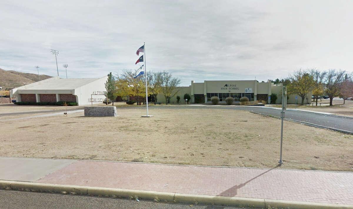 Alpine High School: 704 W Sul Ross Ave, Alpine, TX 79830