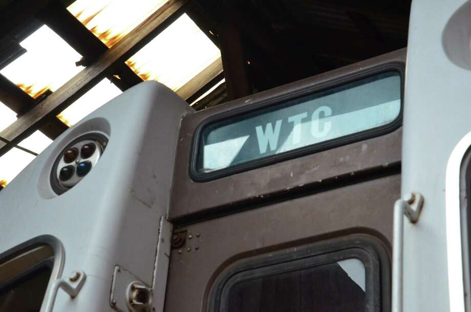 A look inside PATH Car 745, which was buried intact under the World Trade Center site on Sept. 11, 2001. The Shore Line Trolley museum will dedicate the subway car in a ceremony on Sunday, Sept. 11, 2016. Photo: Photos By: Michael Gambino, Jr / Connecticut Post