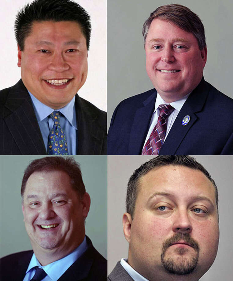 State Sen. Tony Hwang, top left, state Rep. Dan Carter, top right, state Rep. Mitch Bolinsky, bottom left, and state Rep. J.P. Sredzinski. Photo: /