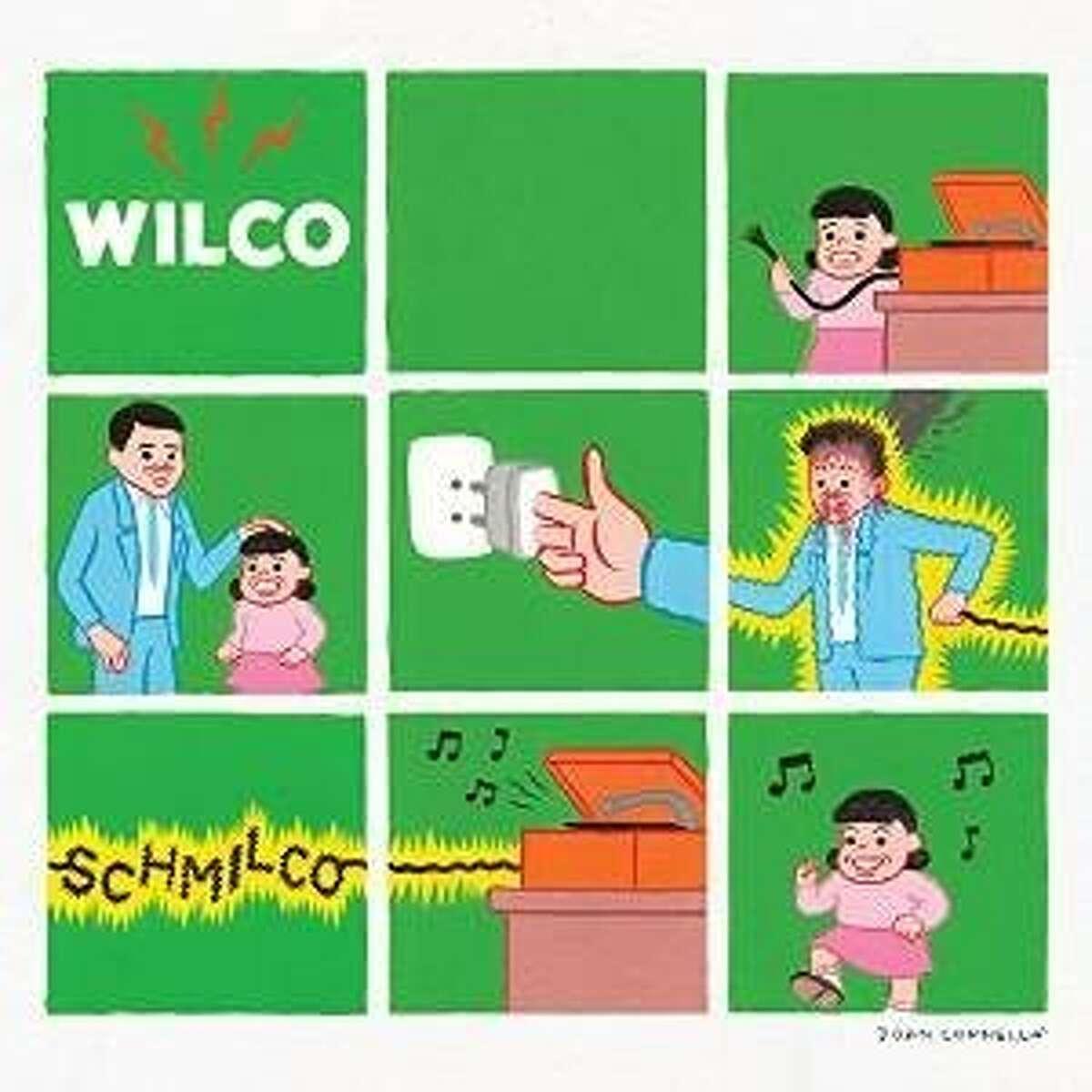 "CD cover ""Schmilco"" by Wilco"