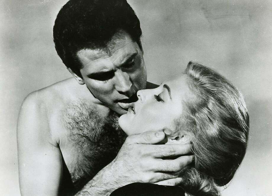 "Michael Dante and Constance Towers in Samuel Fuller's 1964 film, ""The Naked Kiss."" Photo: Contributed Photo"