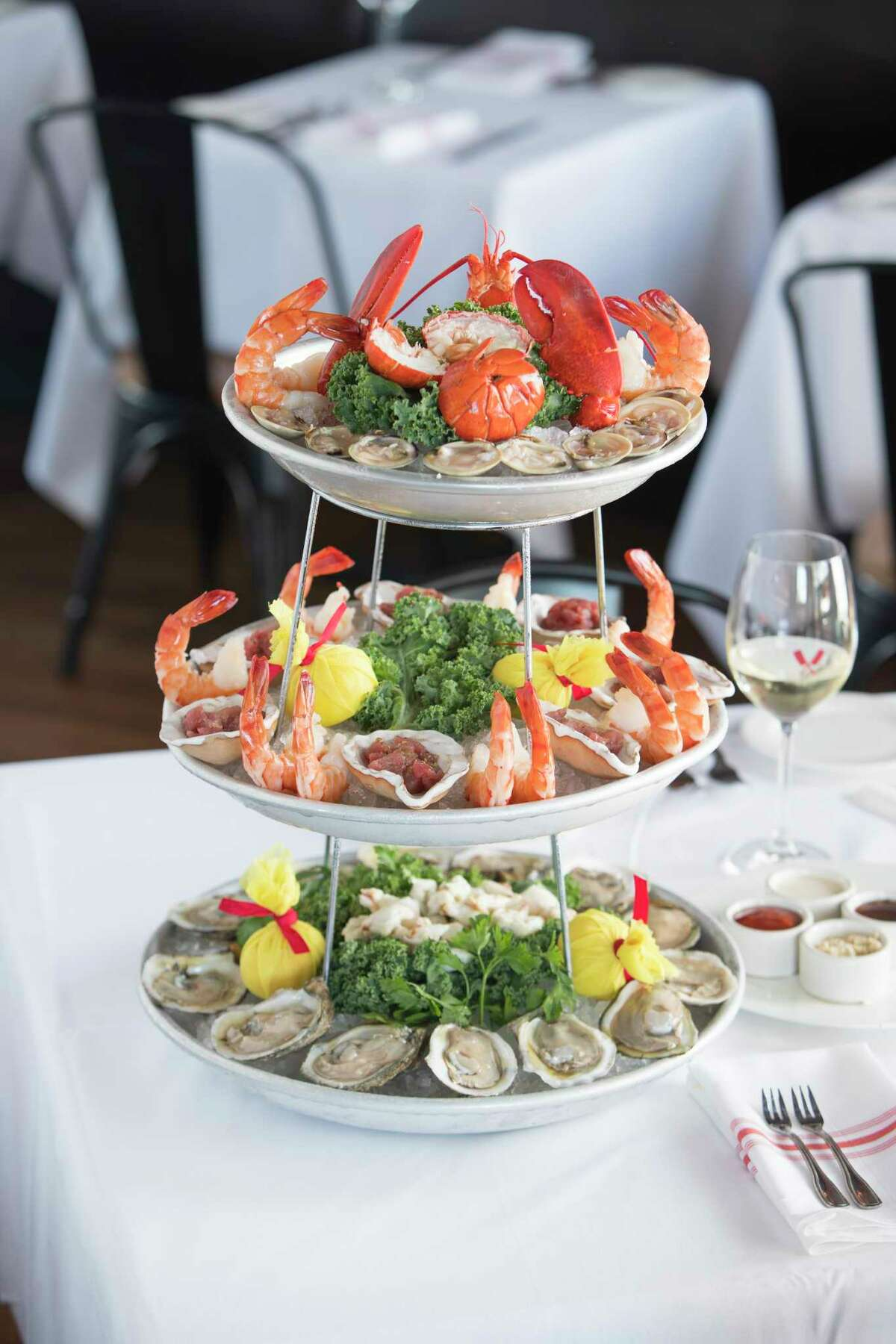 B&B Butchers & Restaurant (seafood tower shown) is one of the biggest doners to Houston Restaurant Weeks. The culinary fundraiser was in its last week when Harvey hit. Organizers decided to extend the event, which benefits the Houston Food Bank, to Sept. 30.