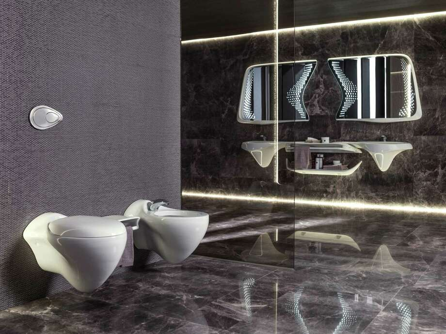the vitae collection by zaha hadid designs for noken and the porcelanosa group features fluid - Noken Porcelanosa