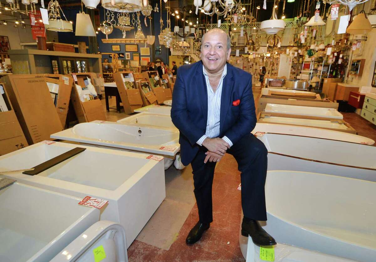 Joseph Klaff Passero, Chairman and Chief Operating Officer of Klaffs stands in the new Klaffs Outlet store inside Lillian August SoNo Outlet on Tuesday September 6, 2016 in Norwalk Conn.