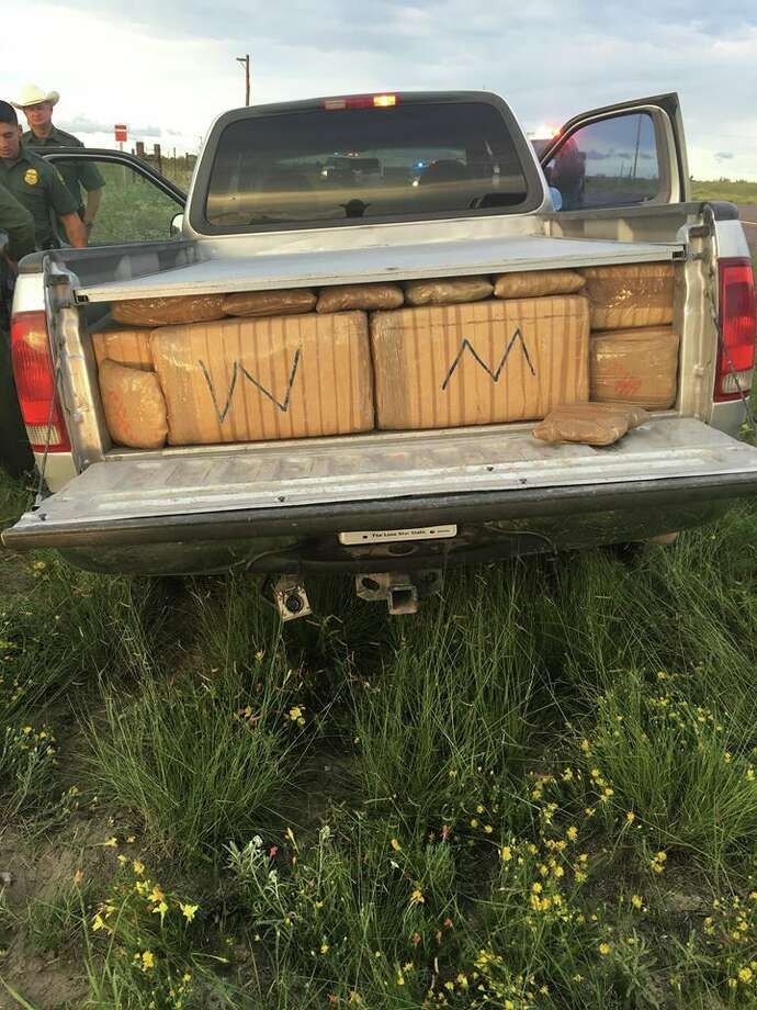 A man was busted with more than 1,000 pounds of marijuana in his vehicle following a high-speed pursuit in Marfa, Texas, on Sept. 6, 2016. Photo: Presidio County Sheriff's Office