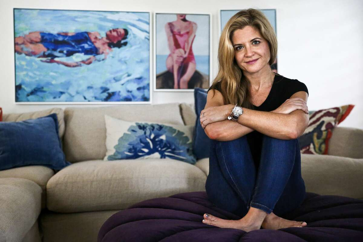 Glennon Doyle Melton at home in Naples, Florida. Her new book,