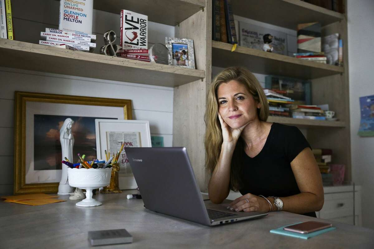 Glennon Doyle Melton started the Momastery blog after quitting her job to stay at home with her children.