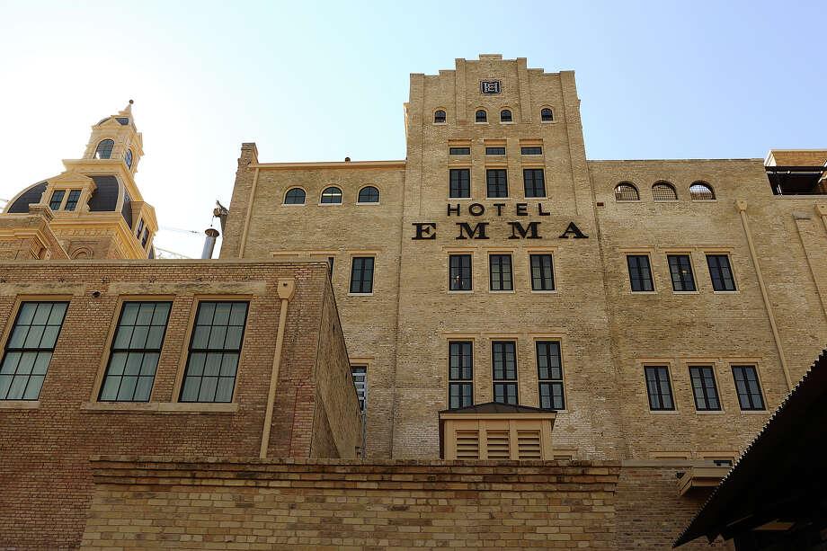 A view of the facade of Hotel Emma in San Antonio. Photo: JERRY LARA, Staff / © 2015 San Antonio Express-News