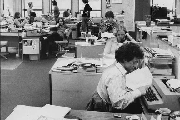 The Chronicle People section in 1977