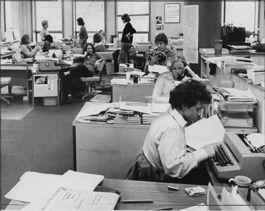 The Chronicle People section in 1977 Photo: Art Frisch, The Chronicle