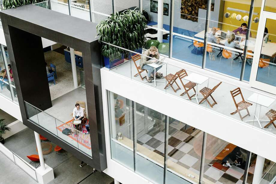 Inside the Airbnb headquarters in San Francisco, Sept. 1, 2016. Airbnb introduced several changes on Sept. 8, to combat discrimination in its short-term rental policy, after facing months of criticism that its hosts are easily able to reject potential renters based on race, religion, gender, ethnicity, age or disability. (Jason Henry/The New York Times) Photo: JASON HENRY, NYT