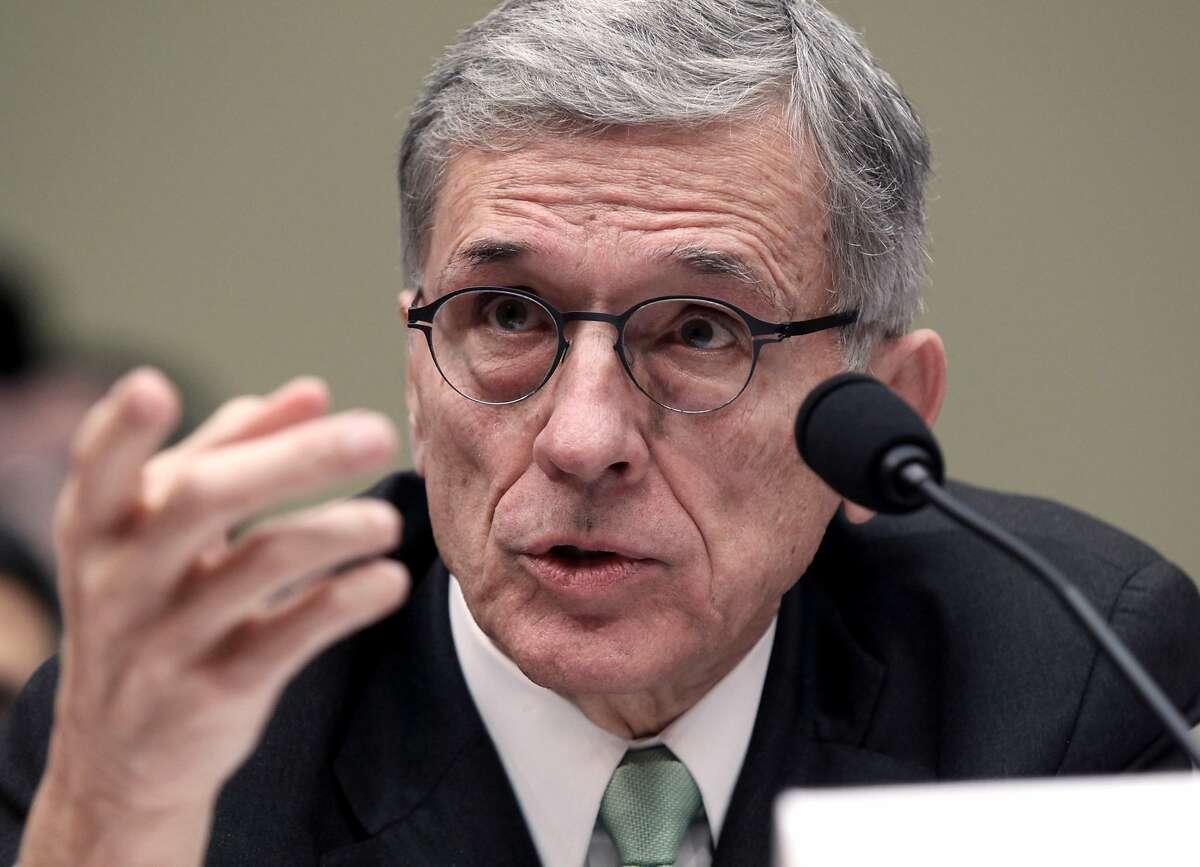 FILE - In this March 17, 2015, file photo, Federal Communications Commission Chairman Tom Wheeler testifies before the House Oversight and Government Reform Committee hearing on net neutrality on Capitol Hill in Washington. You may soon have more options for a cable box than renting one from your cable company. The Federal Communications Commission has a plan to make cable companies provide apps for devices that could be made by tech companies like Roku, Google or Apple. It has made significant changes to its proposal to try to assuage concerns from the TV and cable industries. (AP Photo/Lauren Victoria Burke, File)