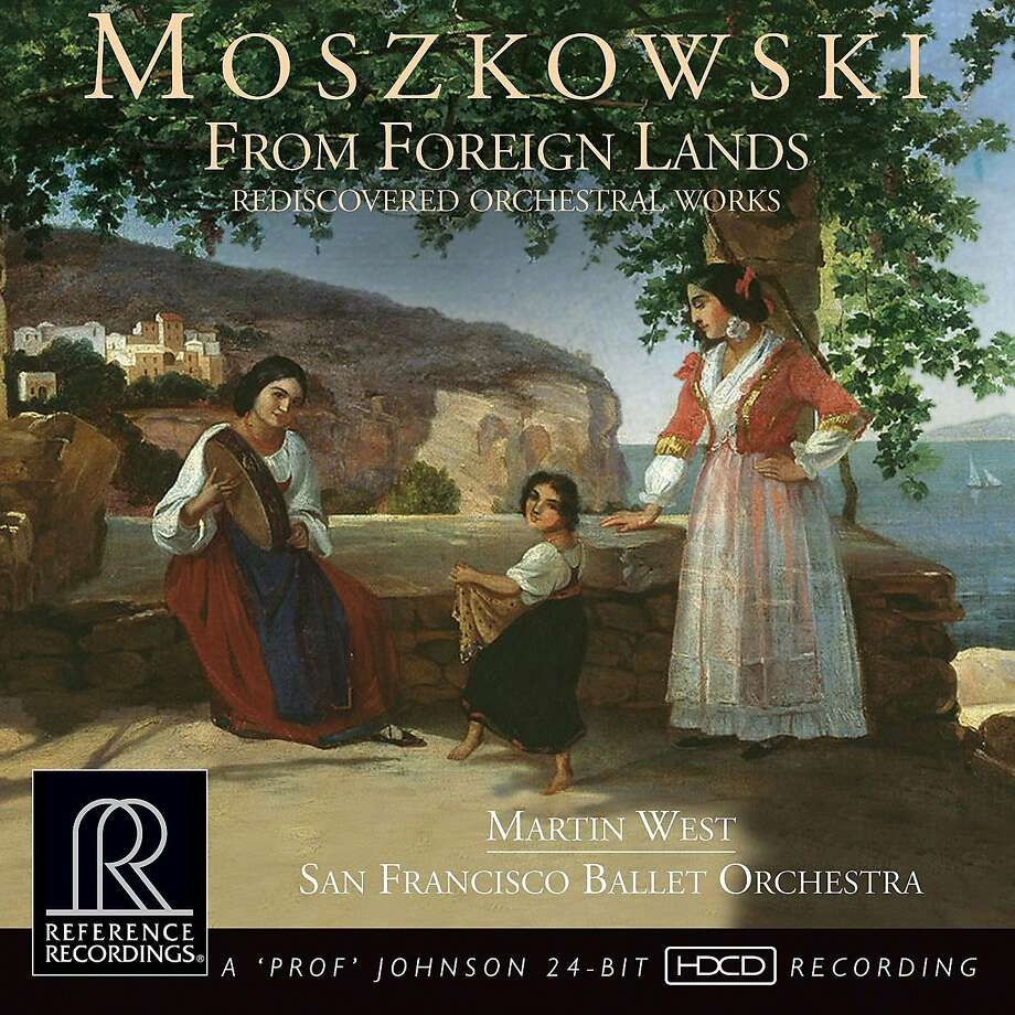 "Moszkowski, ""From Foreign Lands"" Photo: Reference Recordings"