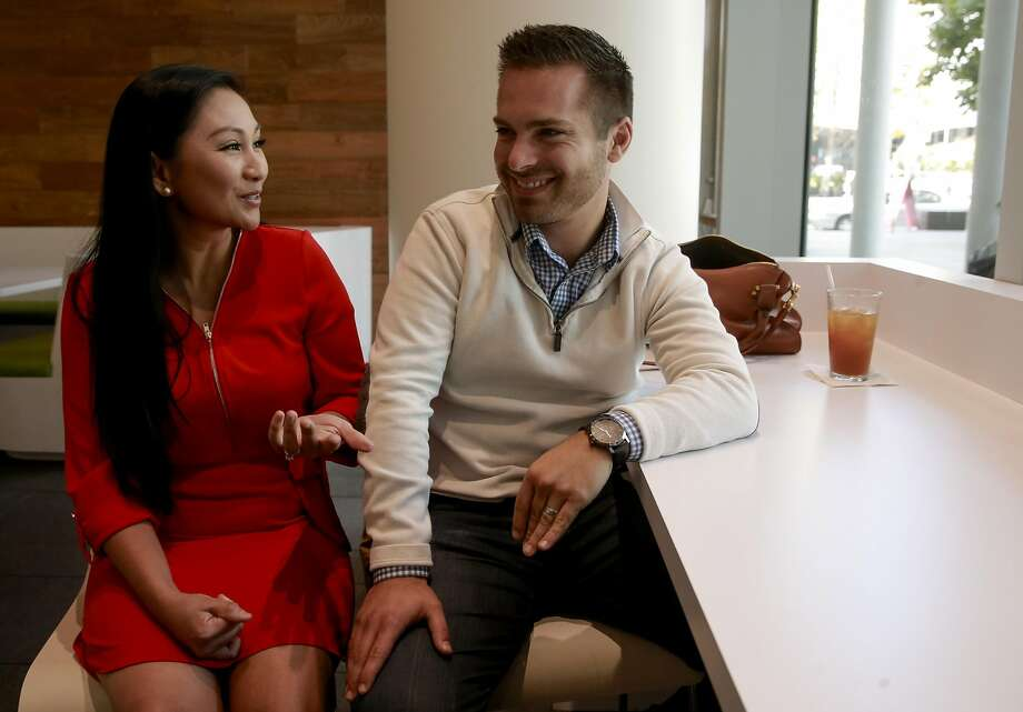 April and Justin Moore have earned enough money from their YouTube appearances to quit their jobs and buy a house in the Bay Area. Photo: Michael Macor, The Chronicle