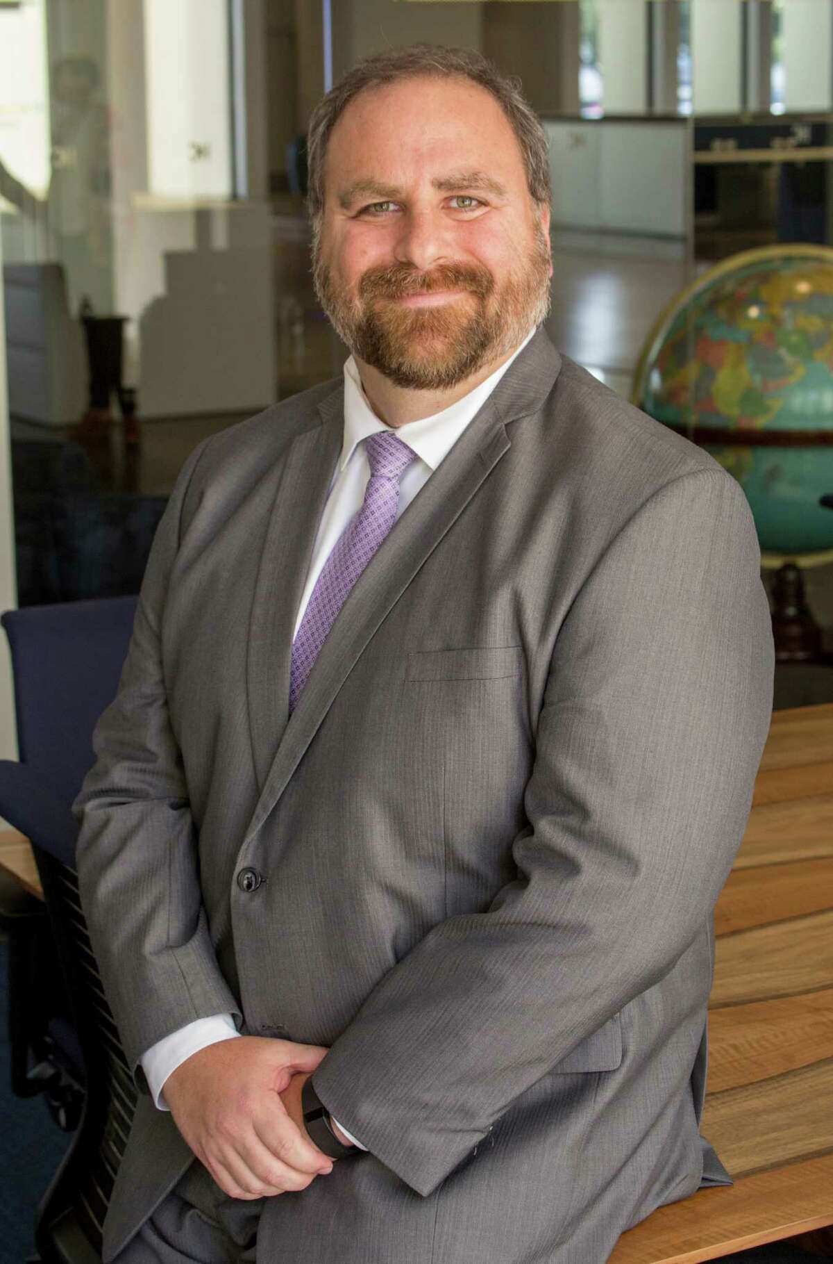 Mike Engelhart is a candidate for re-election to the 151st Civil District Court (JeremyCarter/ Houston Chronicle)