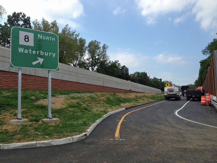 A new, northbound Route 8 on-ramp will soon open at Exit 18 in Ansonia. While the ramp is completed, it will not be open until workers complete finishing details on the nearly $8.7 million project. The ramp, off Westfield Avenue in Ansonia, can be accessed from Division Street. State Department of Transportation officials are targeting a Sept. 16, 2016 opening. Photo: Jim Shay /Hearst Connecticut Media