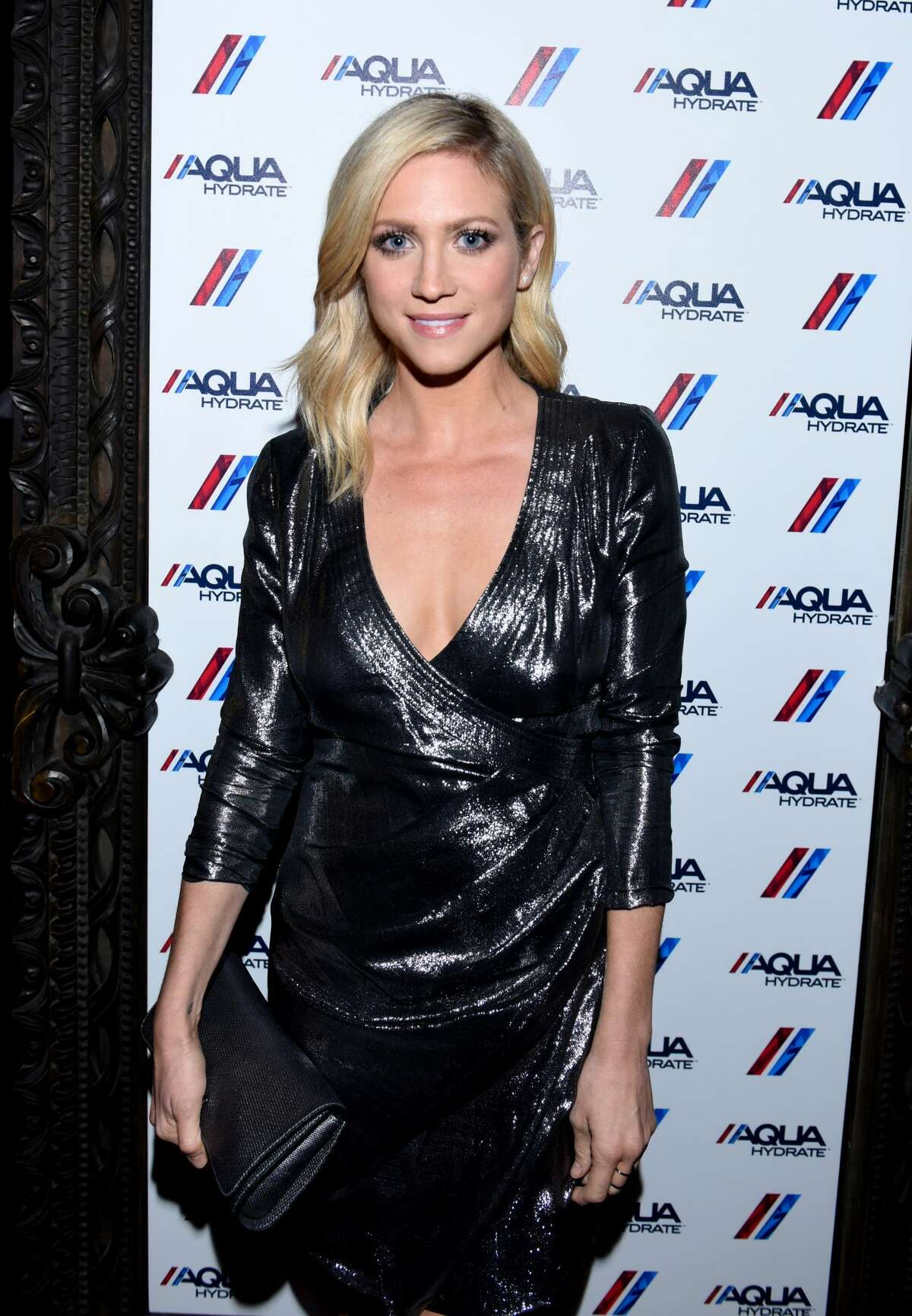 LOS ANGELES, CA - SEPTEMBER 07: Actress Brittany Snow attends a private event at Hyde Staples Center hosted by AQUAhydrate for the Drake and Future concert on September 7, 2016 in Los Angeles, California. (Photo by Vivien Killilea/Getty Images for AQUAhydrate)