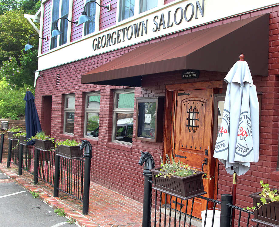 The Georgetown Saloon on Main Street in Redding has closed again. It is shown in this photo taken in Redding, Conn., on Friday, Sept. 9, 2016. Photo: By Chris Bosak / Hearst Connecticut Media / The News-Times