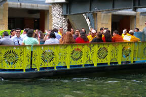 The San Antonio Cocktail Conference will test out its Cocktail Cruise and Beer Barge on the River Walk's new prototype barge, giving attendees the chance to have drinks on the river, on Tuesday, Sept. 13, 2016.