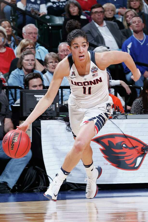 Kia Nurse and the four-time national champion UConn Huskies will play nine nationally televisied games during the 2016-17 season. Photo: Joe Robbins / Getty Images / 2016 Getty Images