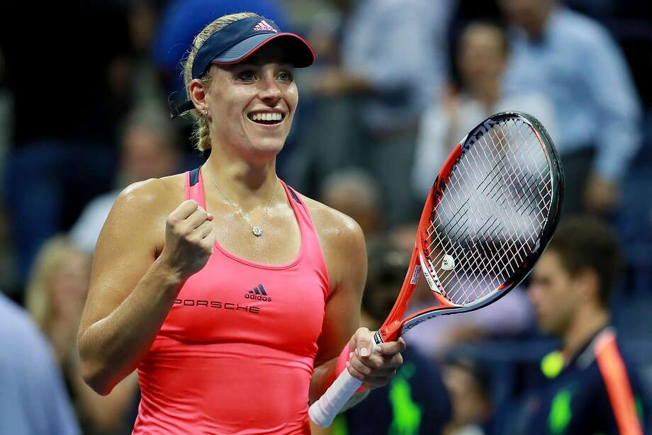 Angelique Kerber is in the U.S. Open final — and good for her — but she is not inducing a renaissance in women's tennis. Photo: Michael Reaves, Getty Images